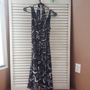 Halter type dress
